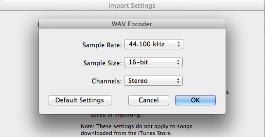 How to convert your audio files to the required format using ...